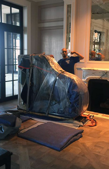 Martins Moving of Sarasota and Bradenton, Florida specializes in moving large furniture like luxury pianos